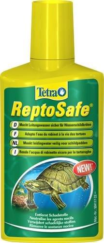 Tetra ReptoSafe Wasseraufbereiter (bereitet Leitungswasser sicher für Wasserschildkröten auf, ideal bei Neueinrichtung eines Aqua-Terrariums und bei Wasserwechsel), 250 ml Flasche