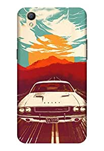 Oppo A37 F Mobile Back Cover By OurPrint