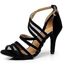 sukutu nuevo mujeres baile Latina Tango zapatos de baile zapatos de baile de raso para mujer Salsa zapatos de mujer SU002