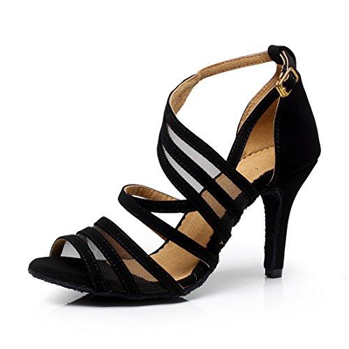 SUKUTU Zapatos Baile salón Mujer Tango Latino Salsa