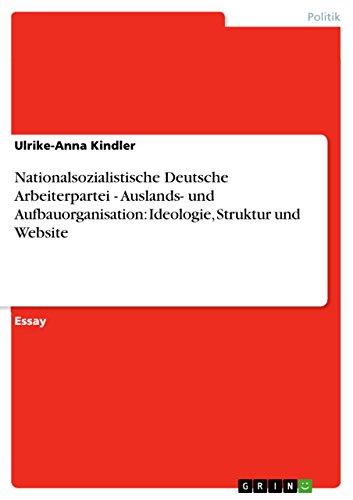 Nationalsozialistische Deutsche Arbeiterpartei - Auslands- und ...