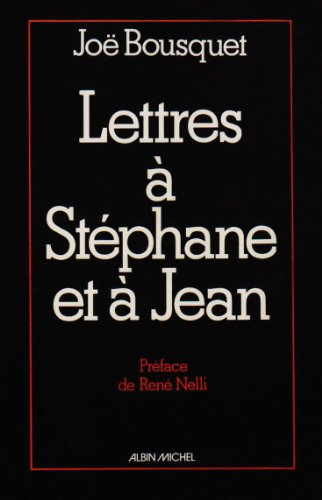 Lettres  Stphane et  Jean