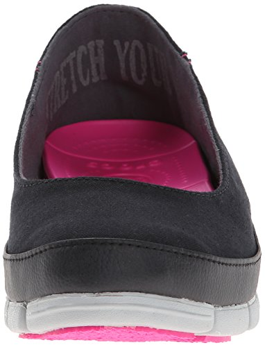 Crocs stretch Sole plat Black/Light Grey
