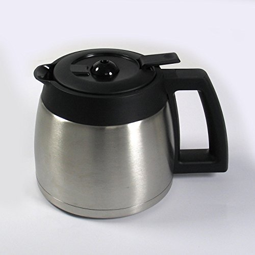419U dd8PaL. SS500  - BEEM Fresh-Aroma-Perfect Thermolux | Coffee Machine with Grinder for Coffee Beans and Filter Coffee | 1.25 l Thermal Pot | Permanent Filter | Timer [1000 Watts/Silver]