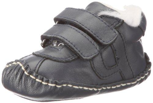 Playshoes Lederschuhe gefüttert 107730 Unisex-Baby Krabbelschuhe Blau (marine 11)
