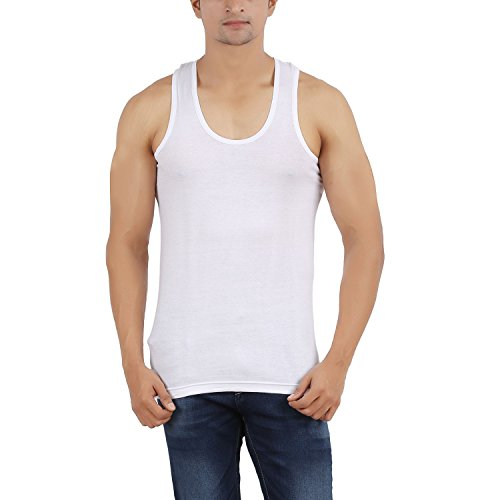 Arkatic Mens Cotton Solid innerwear Premium Vest - Size: M(Pack of 1)  available at amazon for Rs.84