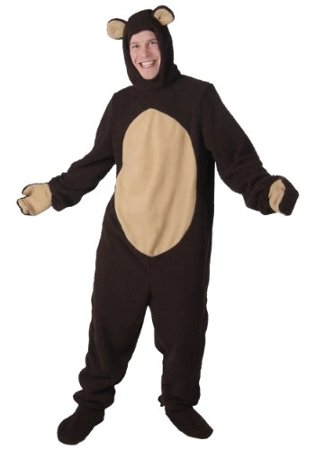 Adult Bear Fancy dress costume Small