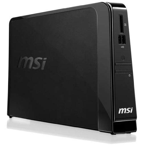 MSI Wind Box DE220-5123L Mini Desktop-PC (Intel Atom D510 1,6 GHz, 2GB RAM, 320GB HDD, ATI Radeon HD 4330, Linux) Ati Radeon Intel