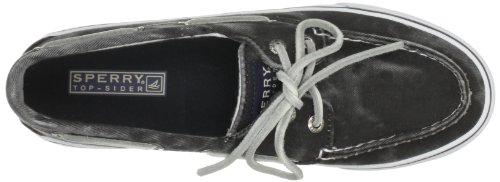 Sperry Bahama, Damen Mokassins Schwarz (Black)