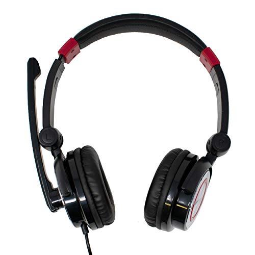 Cuffia USB doppio cavaliere stereotipia 5.1 cuffie con il microfono Mic / Virtual Surround Sound / per PC, Computer, Notebook, Gaming, Musica / Nero / iCHOOSE