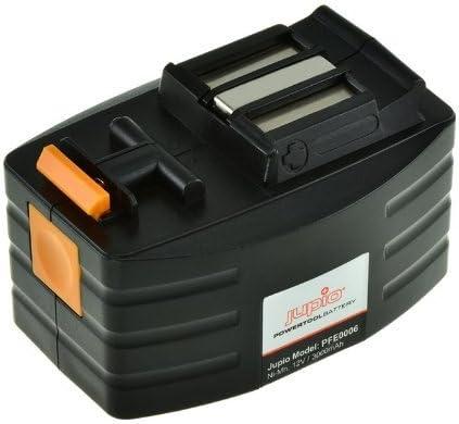 Jupio PFE0006 Batteria per per per Festool 490364 Series, Ni-MH, 12 V   Raccomandazione popolare    Buona reputazione a livello mondiale    Prezzo Ragionevole  3544b4