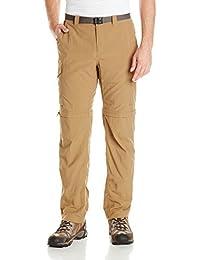 Columbia Silver Ridge Convertible, Pantalones Convertibles, Hombre, Marrón (Delta), 40/30
