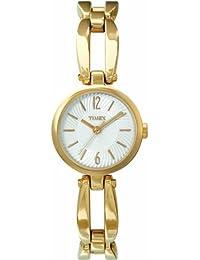 Timex Classic Damen-Armbanduhr XS Analog Messing T2M729