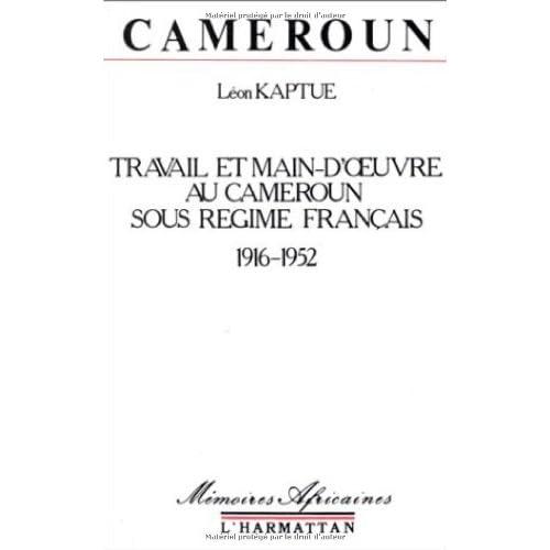 Travail et Main d'Oeuvre au Cameroun ...