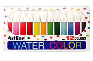 Artline 300 Lot de 12 marqueurs aquarelle (Assortiment de couleurs)