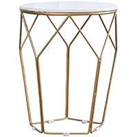 CB Marmor Couchtisch, Wohnzimmer Eisen Kunst Kleine Couchtisch Einfache  Kleine Wohnung Runde Tee Tisch Couchtisch