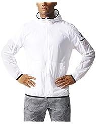 adidas Daybreaker Wind - Chaqueta para hombre, color blanco , talla XL