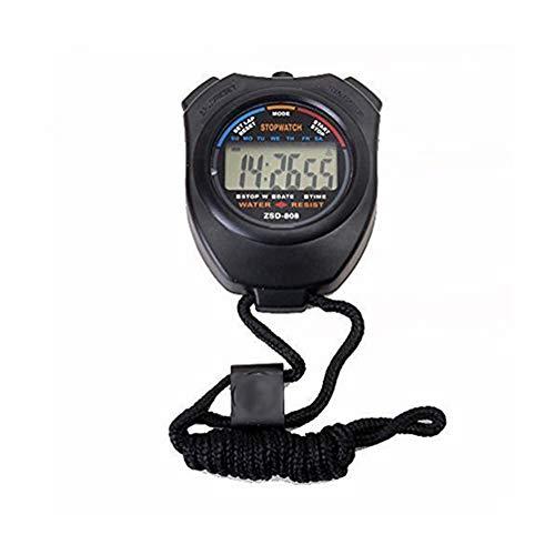 Isuper Cronómetro cronómetro Digital cronógrafo