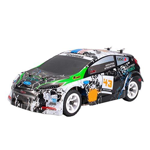 happy event 30km/h ferngesteuertes RC-Auto 1/28 2.4G unabhängige Aufhängung Off Road Rally Car (Holz-monster-truck)
