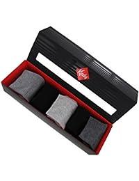 Boite cadeau 5 paires de chaussettes unies en coton majoritaire