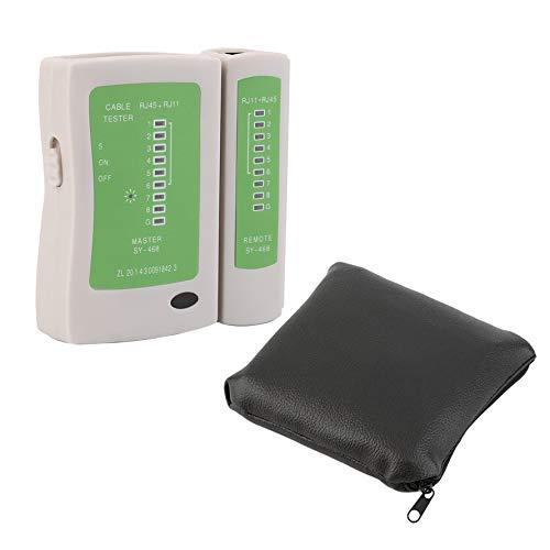 HoganeyVan Network Tool Professional RJ45 RJ11 RJ12 CAT5 UTP Network LAN USB Cable Tester Detector Remote Test Tools Networking Tool