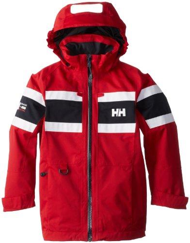 Helly Hansen Kinder Jacke JR Salt Jacket, Red, 8, 40076