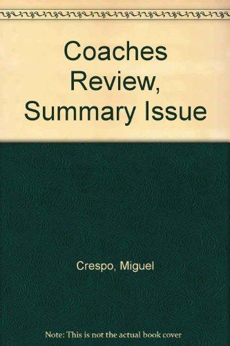 Coaches Review, Summary Issue por Miguel Crespo