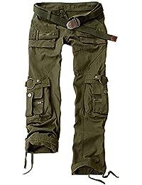 Pantalones deportivos para mujer Combate Cargo Multifunctions Pantalones de Trekking , Juleya