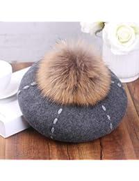 FRGVSXZCX Cappello da Donna alla Moda per Autunno e Inverno 8bfa9d0e73a5