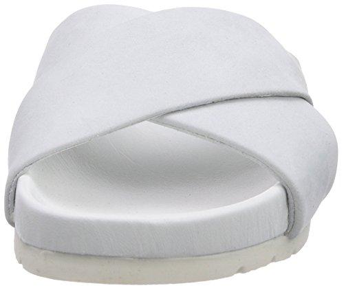 Inuovo  ZUREL, Sandales pour femme Blanc - Weiß (WHITE NUBUCK)
