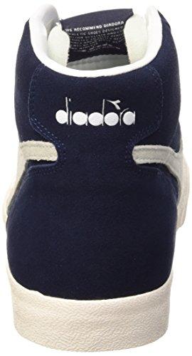 Diadora Tennis 270 S H, Chaussures Mixte Adulte Bleu Prugna/Blanc
