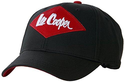 1a5d4e73a Lee Cooper LCACC612 - CAP BLACK - Gorra De Algodón Para Hombres - Negro