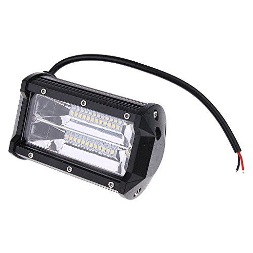 Sharplace Universell Auto Boot LED Flutlicht Zusatzscheinwerfer Scheinwerfer 10800lm 6000k