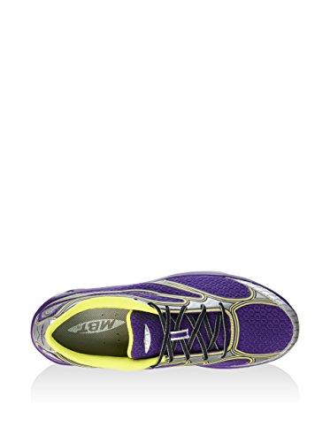 MBT Afiya Lace W, Sneaker Basse Donna Viola/Argento