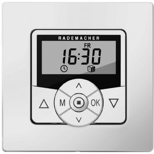 Preisvergleich Produktbild Rademacher Troll Comfort 3D 5635 inklusive Rahmen 3-Draht-Technik, ultraweiß, 36500712