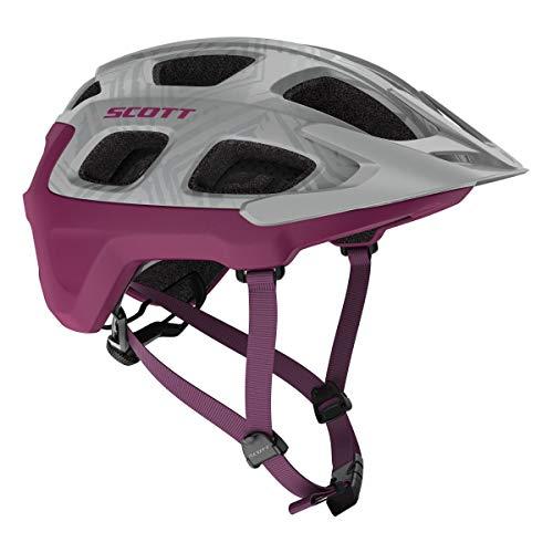 Scott Vivo MTB Fahrrad Helm grau/lila 2019: Größe: M (55-59cm)