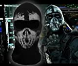 LandPure@ Call of Duty Geister Schädel-Maske Balaclava Hood Ghosts Skull Mask