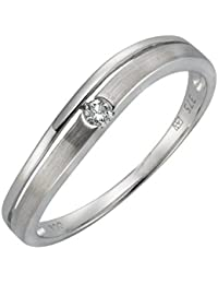 Diamonds by Ellen K. Damen-Ring 9 Karat (375) Weißgold rhodiniert Diamant 170370172