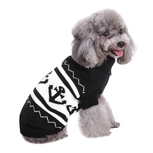 Boodtag Hunde Pullover Weihnachtskostüm für Hund Hautier Doktor Hundebekleidung für Fotografie Weihnachten Coseplay und Party Lustiges Kleid