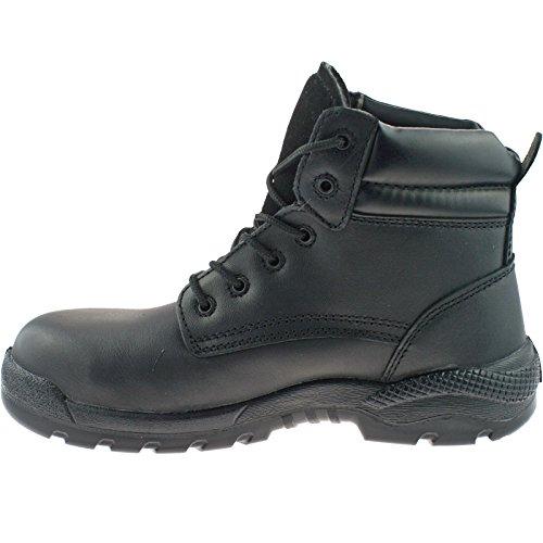 Grafters , Chaussures de sécurité pour homme Noir - noir