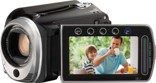 JVC GZ-HD520BEU Full HD Camcorder (microSD Kartenslot, 120 GB Festplatte, 40-fach optischer Zoom, 6,9 cm (2,7 Zoll) Display)