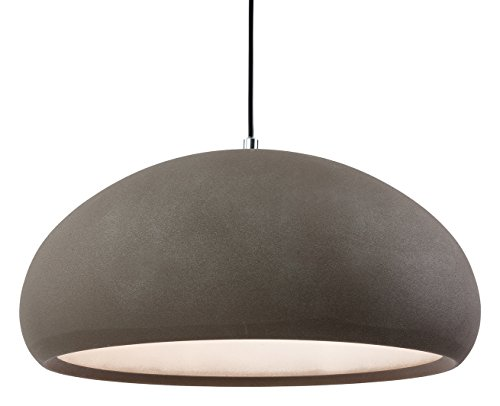 firstlight-2308cn-e27-edison-screw-60-watt-costa-rough-sand-concrete-pendant-light