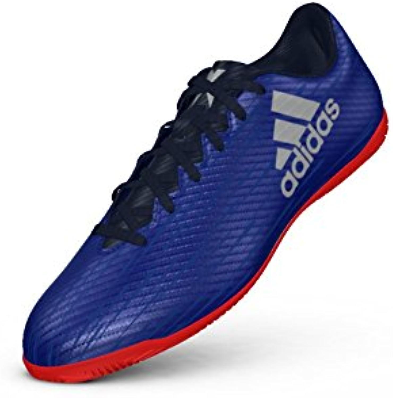 adidas Herren Fussball Sport Hallenschuhe X 16.4 IN blau / silber