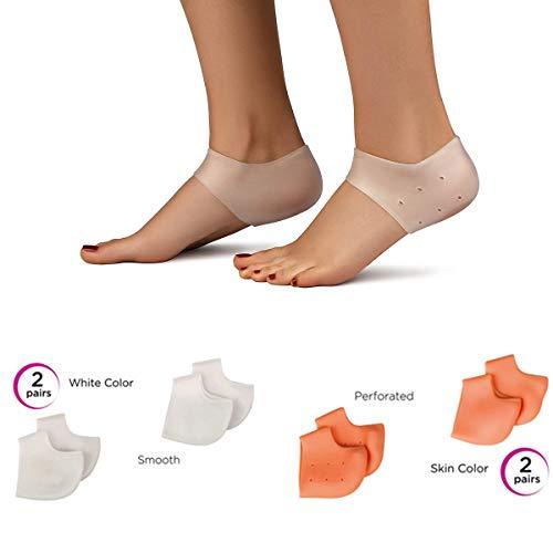 Fascite plantare & cuscinetto per speroni e talloni (8pezzi). allevia dolore al tallone e sollievo per piedi doloranti perfetto per spina calcaneare tallonite sperone calcaneare e disturbi al piede