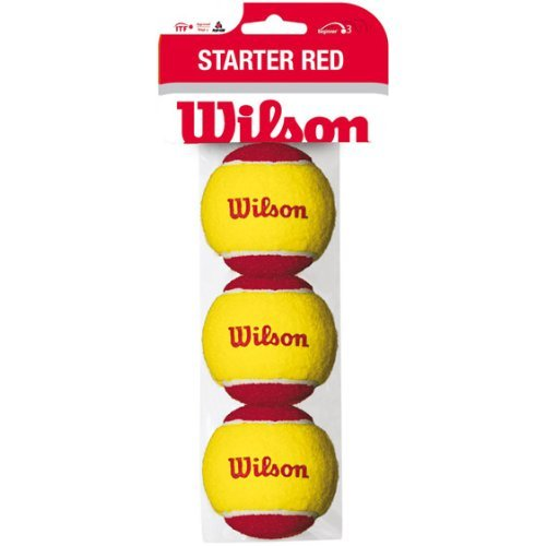 Wilson Starter Ball 3 Pack, Yellow, 6, WRT137001