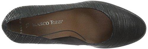 Marco Tozzi - 22402, Scarpe col tacco Donna Nero (Nero (Black 001))