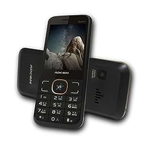Adcom 201 Dual Sim Mobile Phone with Camera(Black Gold)