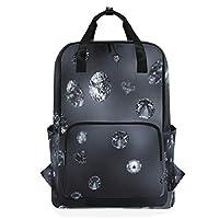 LUPINZ Amazing Diamonds Pattern Backpack Durable Soulderbag Bookbag Back to School