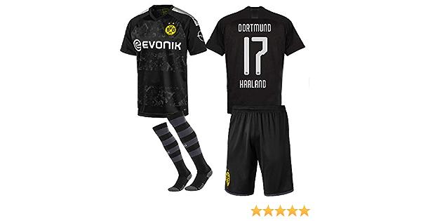 Dortmund Haaland fan shirt trikot shorts /& socken kinder boys Gr 134 140 146