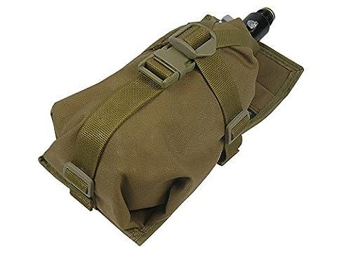 Air Tanks Pouch Bag m.o.l.l.e Horizontal (0,8–1,8L) 35CI 48ci 50CI 68ci, Coyote Brown
